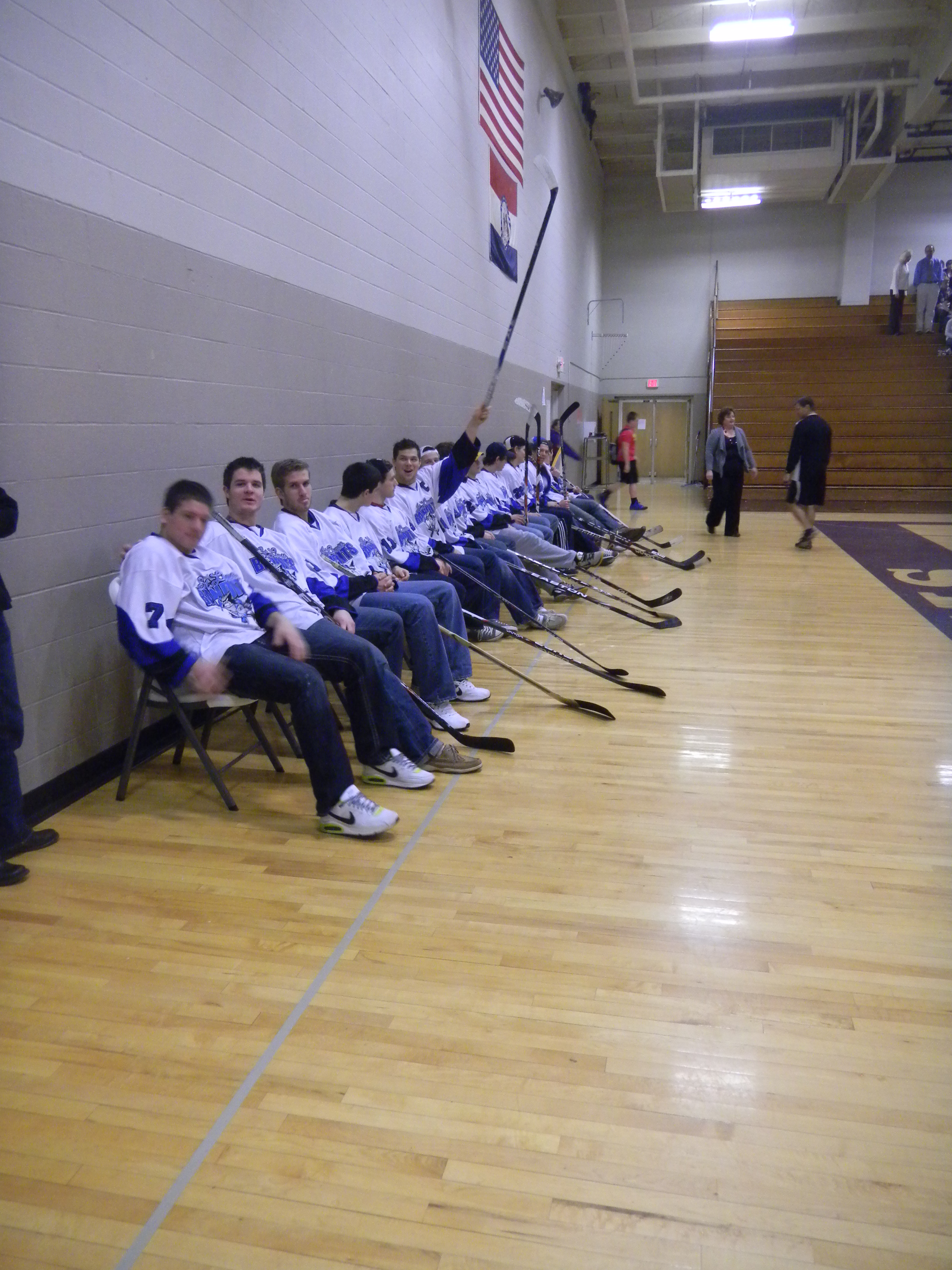 St. Louis Bandits visit to Troy Middle School